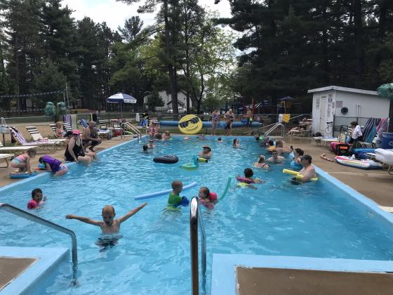Family friendly pool is open Memorial weekend through Labor Day