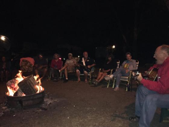 Fantastic campfires!
