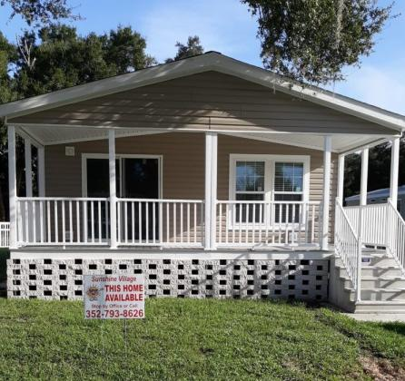 A sample of a new home available for purchase or rent.