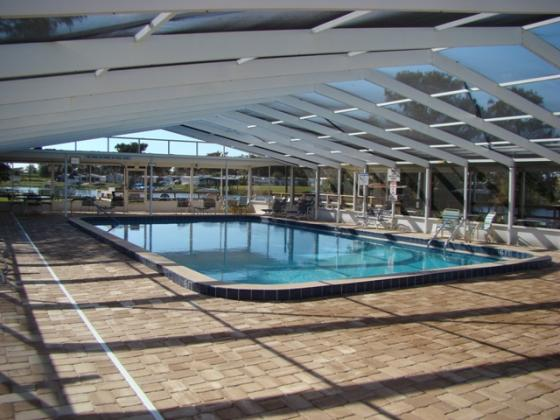 Screened & Heated Pool