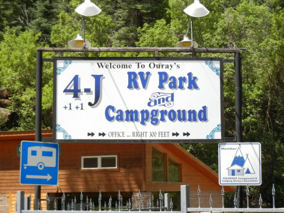 Welcome to camping in Ouray, Colorado! 4J+1+1 RV Park