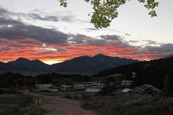 "A ""buena vista"" from Buena Vista KOA. The views are truly beautiful!"