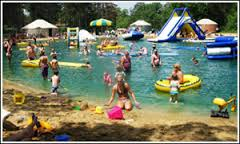 The pond at Smokey Hollow Campground is a great place to spend the summer.