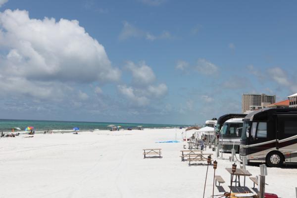 Beach Front sites