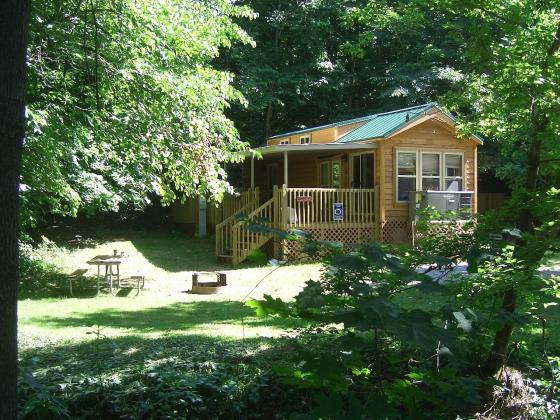 Nittany Lion Deluxe Cabin