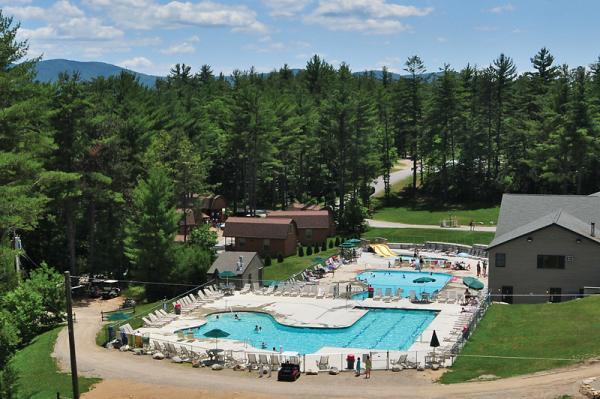 Pools at Danforth Bay Camping & RV Resort