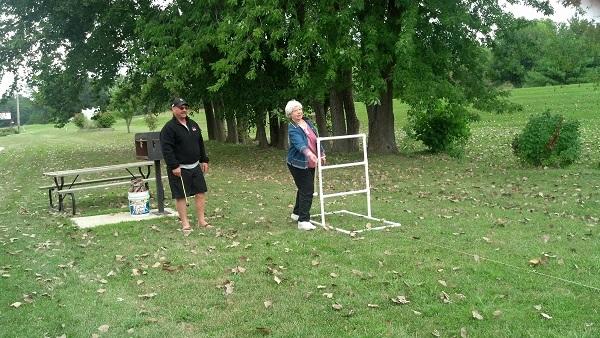 Family picnic/play area