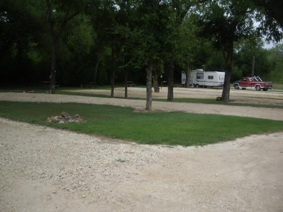 Level Sites, Gravel and Grass Near the Creek