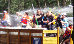 Smokey Hollow Campground has the best Water Wars!