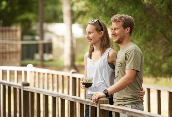 Enjoy walking through nature on our board walks.