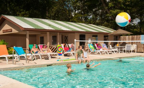 One of our two pools at Sunburst RV Resort in Milton Florida