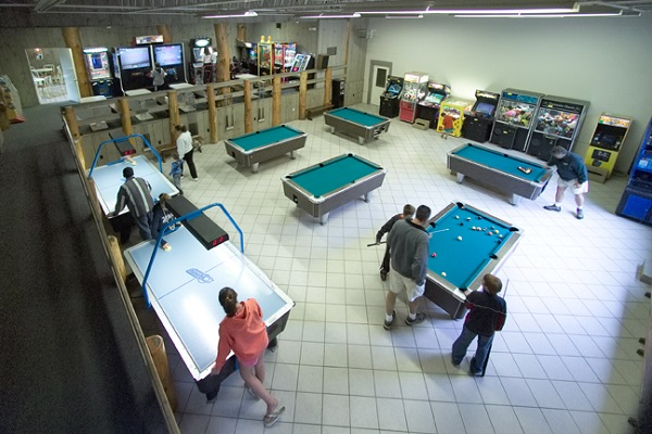 Two On-Site Arcades