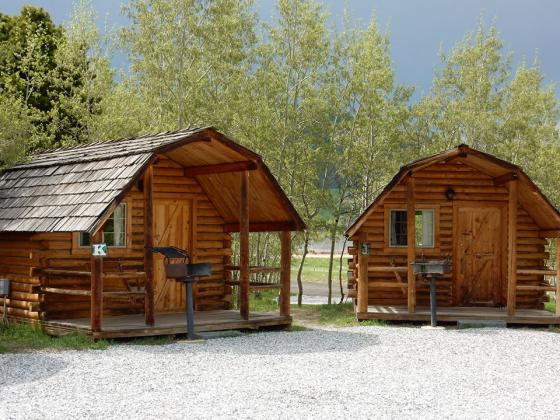 Cabins for rent and so much more at Base Camp at Golden Gate Campground