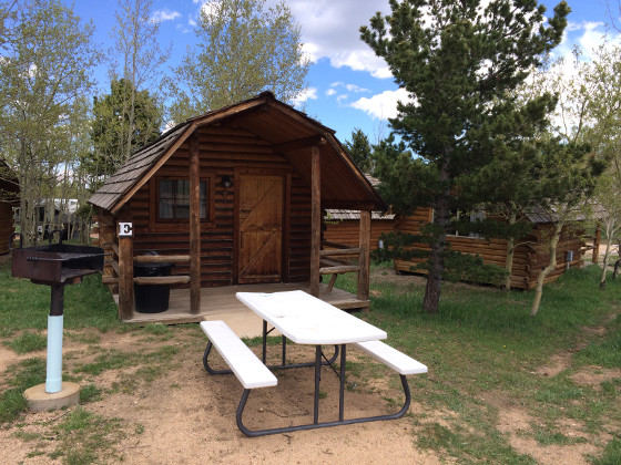 Laundry facilities, stores, cabins and more at Base Camp