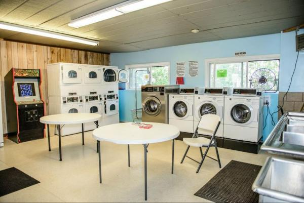 Great laundry facilities at Base Camp at Golden Gate Canyon Campground