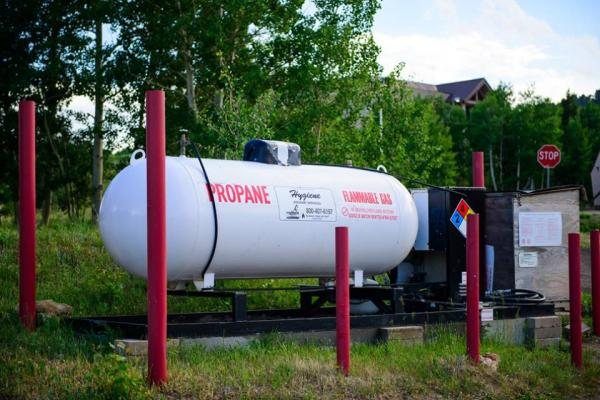 Stock up on propane at Base Camp at Golden Gate Canyon near Blackhawk