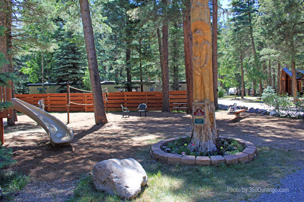 Great tribute and park at Blue Spruce RV Park