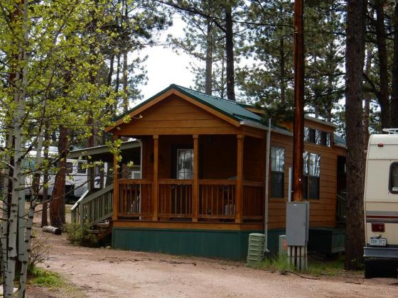 Cabins for rent at Bristlecone Lodge in Woodland Park!