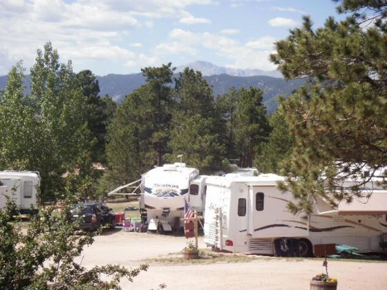 Great scenery and views at Colorado Heights Campground!