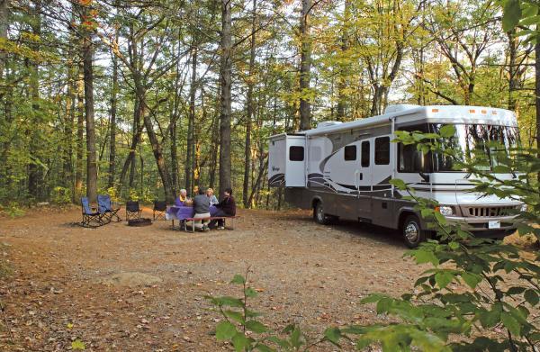 Nice big campsites