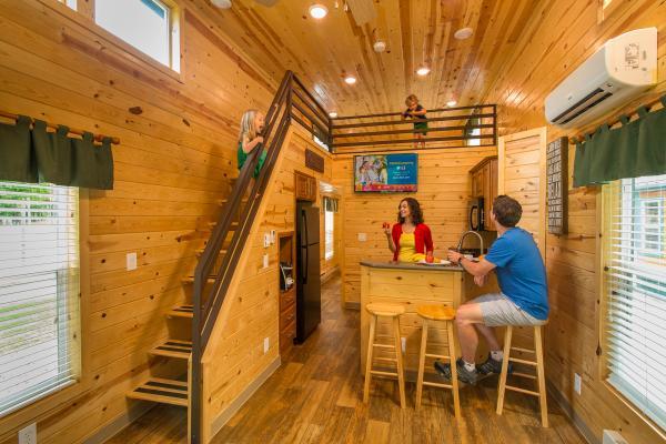 Hotel-Style Deluxe Cabins in Flagstaff, Arizona at the Flagstaff KOA