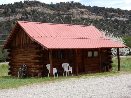 Great cabins at Dolores River Campground!