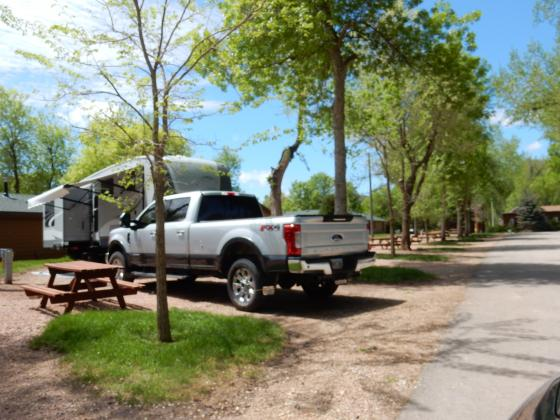 Lake Park Campground & Cottages / Rapid City SD