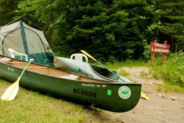 Camping Canoeing  Kayaking and lots of FUN!