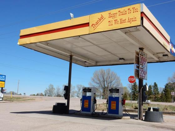 Convenient fill up area before setting off! - near Colorado Springs