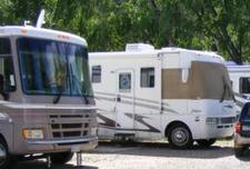RVs at Fireside Cabins & RV Park near Loveland Colorado