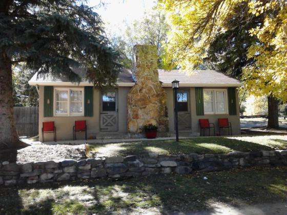 Rental cabin at Fireside Cabins and RV Park near Loveland Colorado