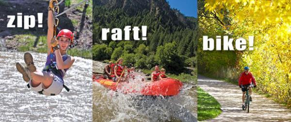 Zip -- Raft -- Bike