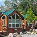 Great cabins for rent at Glenwood Canyon Resort