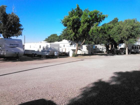 Hugoton RV Park, in southwest Kansas, offers RV sites and vacation rental cabins