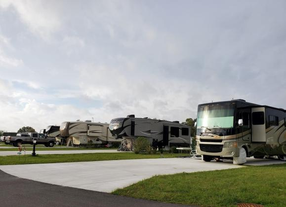 Spacious RV Super sized lots