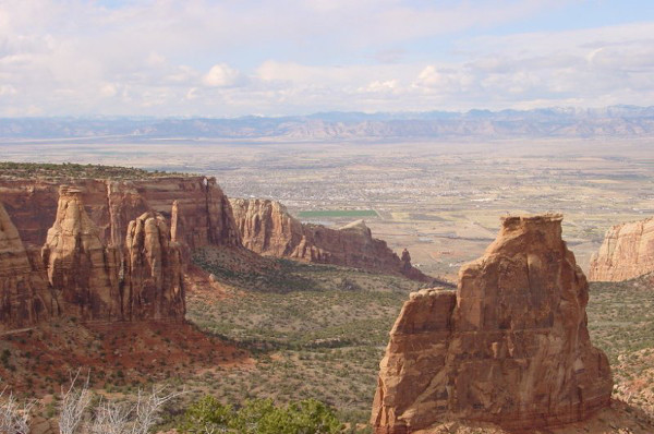 View from Colorado National Monument