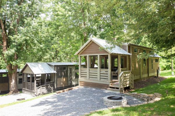 Tiny Homes at Little Arrow Outdoor Resort