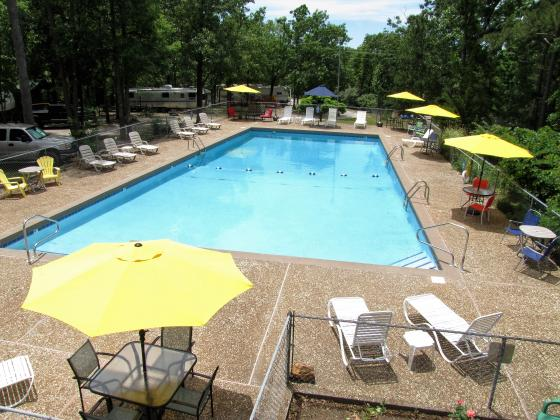 The biggest pool in the area! Great on those hot summer days!