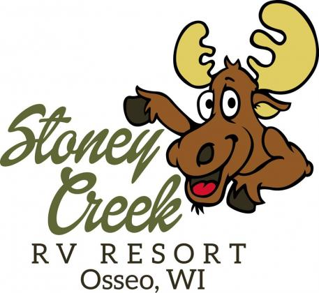 Stoney Creek Logo with Morey the Moose