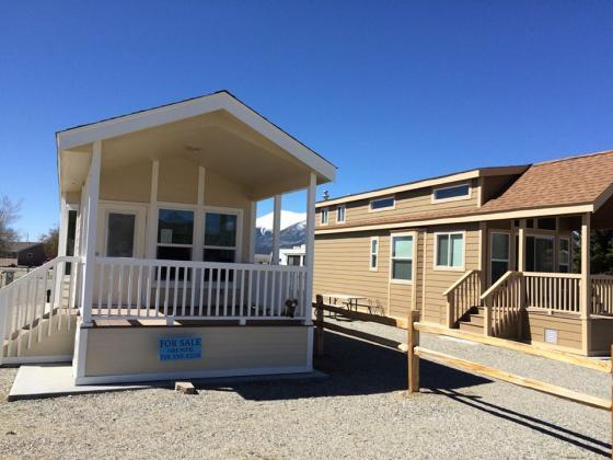 Cabins for rent at Mt Princeton Resort