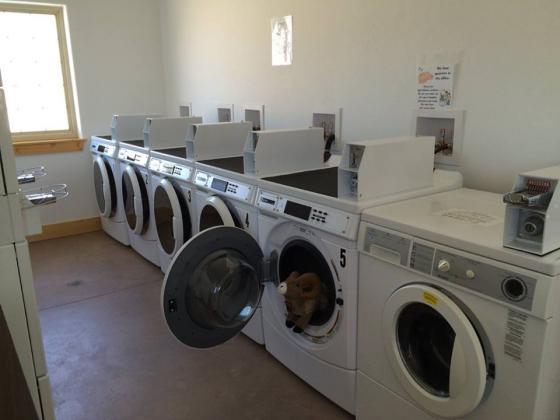 Great laundry facilities at Mt Princeton RV Resort