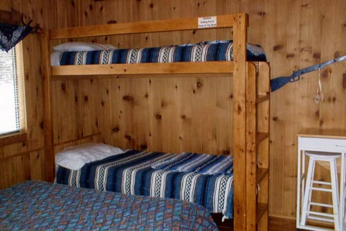 Three cozy, comfortable one-room cabins (sleep 2-4) with no minimum stay