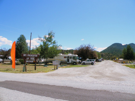 Welcome to Mt. Princeton RV Park in beautiful Buena Vista, CO