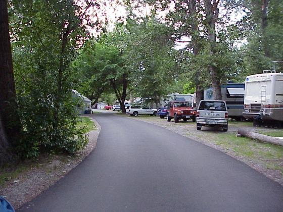 Paved Interior Roads