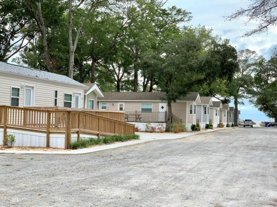 Camping isn't so much your thing? We have multi-bedroom, multi-bathroom villas available for weekly rental!