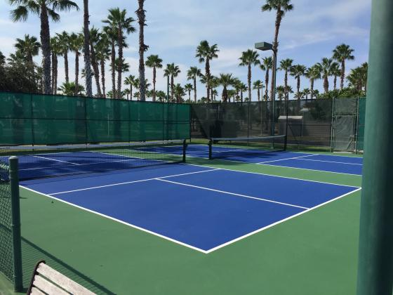 Lighted Tennis and Pickleball