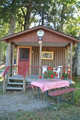 Come spend a few nights in one of our cozy Camping Cabins