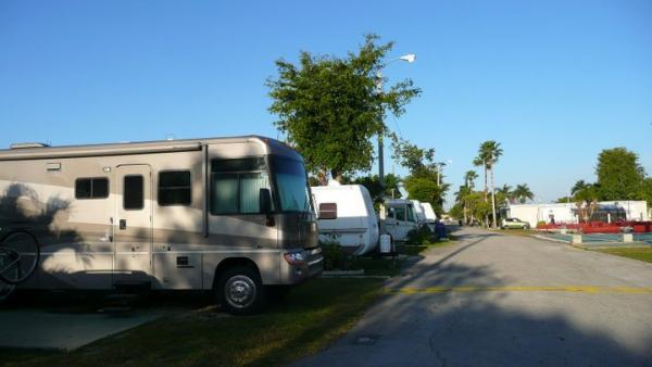 RV, camping, motorhome, park