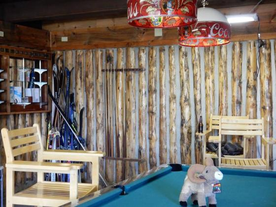 Play a game of pool or arcade games at Sugar Loafin' RV Campground and Cabins