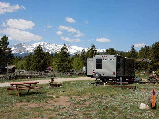 Great spots to set your RV and tents at Sugar Loafin RV Campground and Cabins